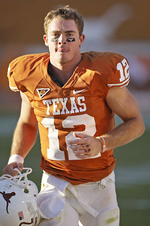 Colt McCoy's Pro Day Could Boost His Stock