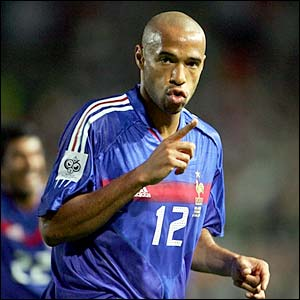 Bodog ignores Thierry Henry at World Cup