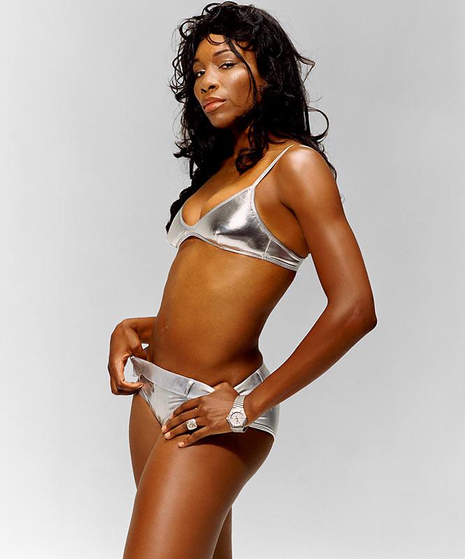 Venus Williams plays French Open in her underwear