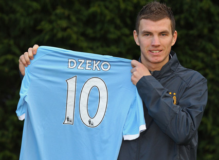 Bent and Dzeko battle it out for signing of the window