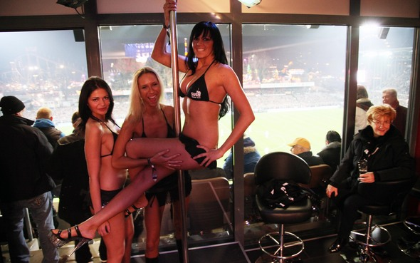 Strippers banned during soccer matches