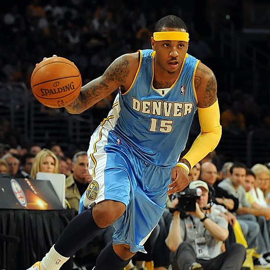 Carmelo Anthony joins the New York Knicks