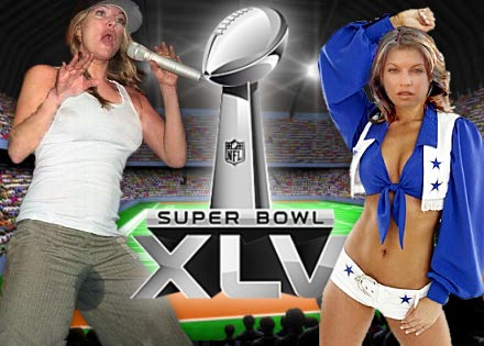Super Bowl halftime show: Will Fergie play cheerleader or Black Eyed Pee herself?