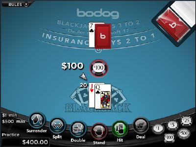 Bodog deals billionth blackjack hand