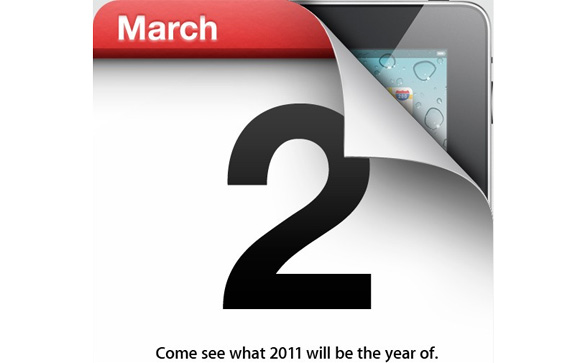 Apple announces iPad 2 launch