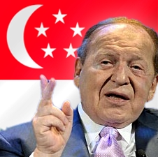 Sands' Adelson claims junkets already operating in Singapore
