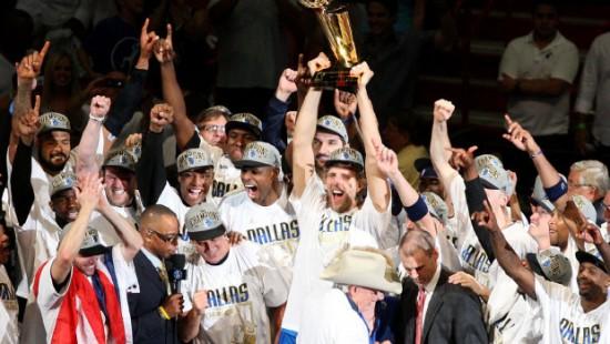 Dallas Mavericks win 2011 NBA Championship