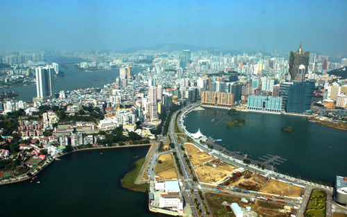 News from Macau as visitors are on the up