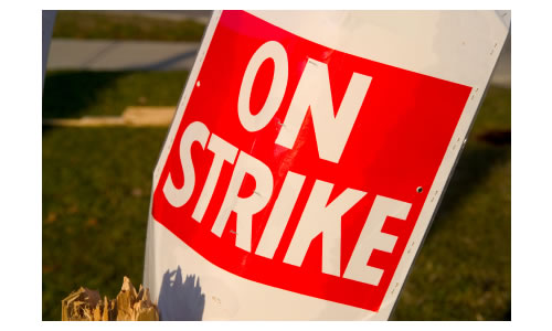 Another league postponed due to strike action