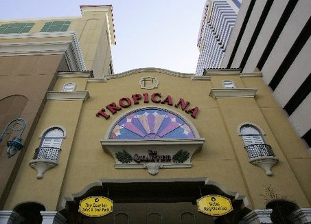 Tropicana Casino and Resort taking gambling to the streets