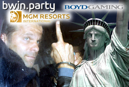 Pwin joins 'anticipatory' three-way with MGM Resorts, Boyd for US online poker