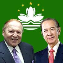 Macau YTD revenue; Adelson says Sands lacks pizzazz; Stanley Ho turning 90