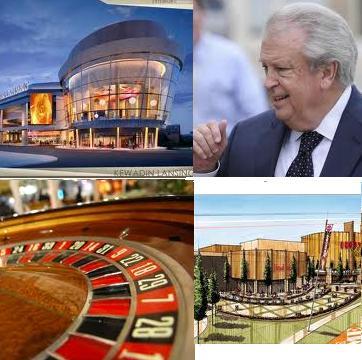 Lansing Casino debate turns nasty; Kansas' Hollywood Casino opens for test run; Gambling corruption case temporarily suspended