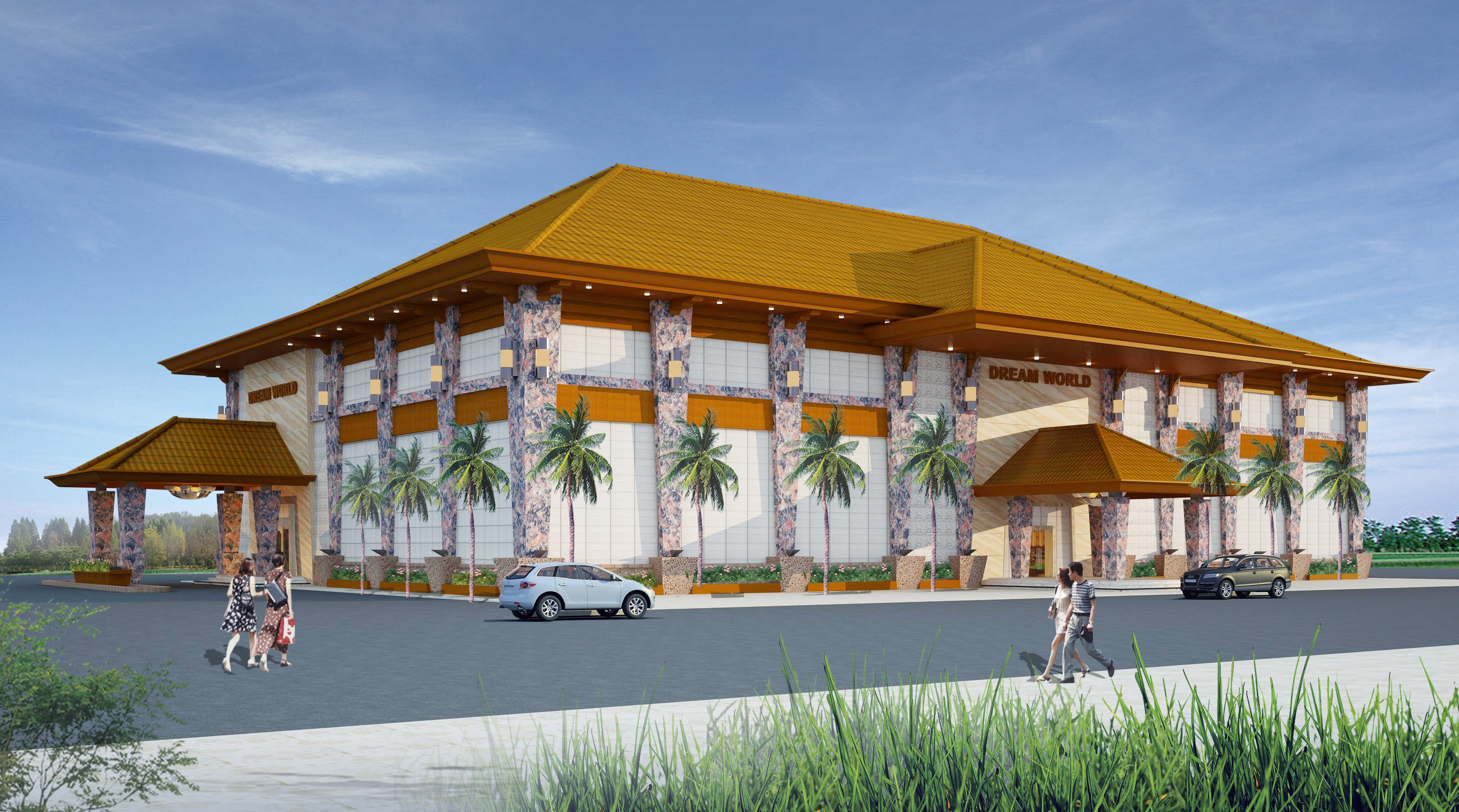Cambodian casino on track for opening