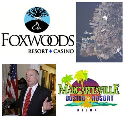 Foxwoods Resort sees slot revenue growth; Foxboro selectmen not ready for casino vote; Margaritaville Biloxi open date set