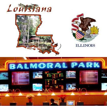 Louisiana casinos demonstrate flat revenue growth; Illinois gambling expansion negotiations are in final stages