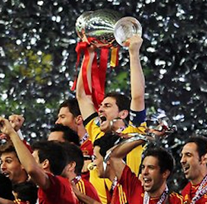 Euro 2012: Spain's trashing of Italy in finals means bad day for some books