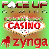 DoubleDown add bingo; Face Up Facebook; Zynga gambling potential questioned