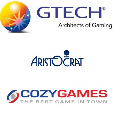 JOBS! GTECH; Aristocrat; Cozy Games