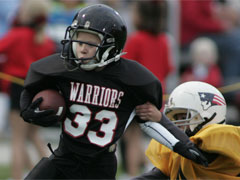 Youth football coaches face charges of illegal gambling on youth football games