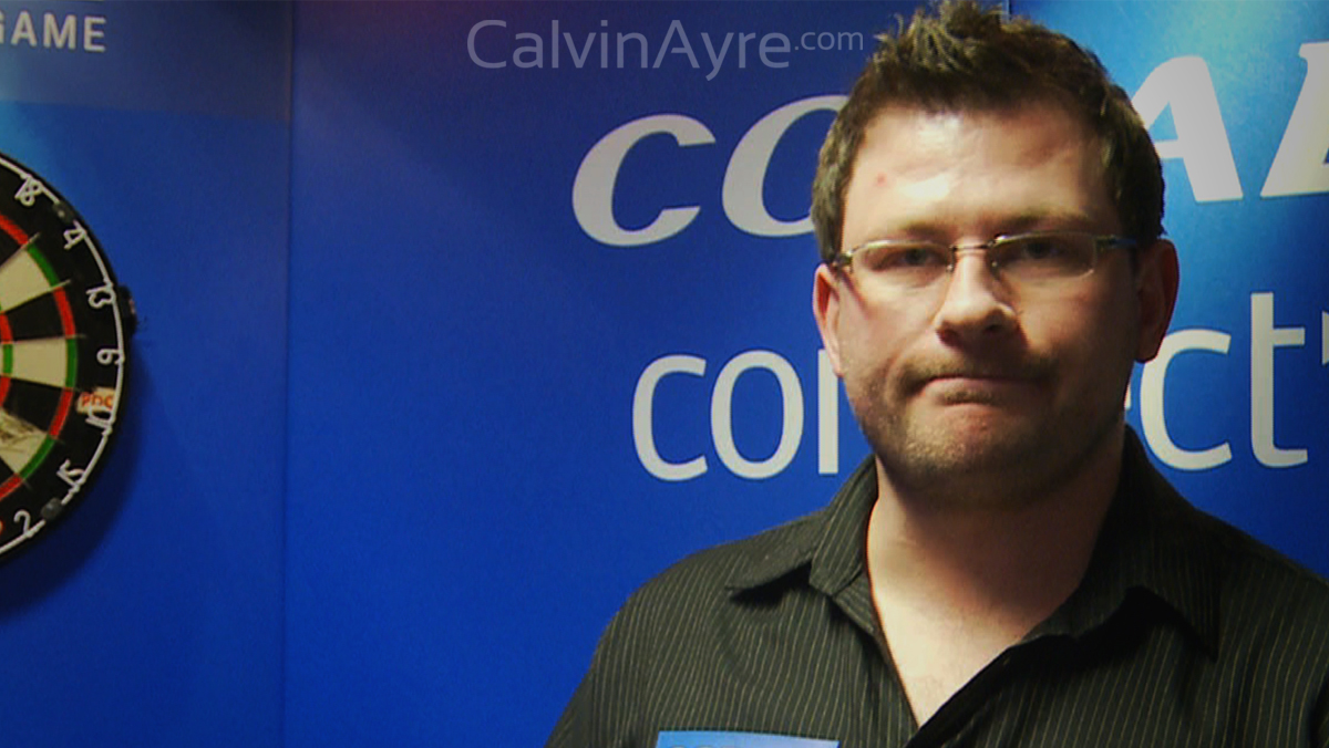 Interview with Pro Darts Player James 'The Machine' Wade