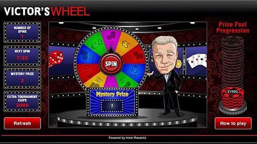 BetVictor and Initial Rewards partner for poker Gamification in Victor's Wheel