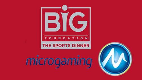 The BiG Foundation announces Microgaming as Headline sponsor for The BiG Sports Dinner