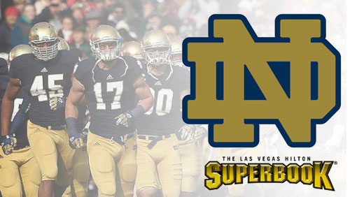 Vegas books suspend Notre Dame betting odds after academic fraud controversy