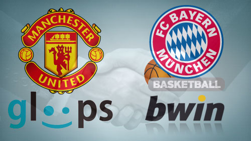 Manchester United extends deal with Japanese social gaming company; bwin deals with Bayern Munich's basketball team