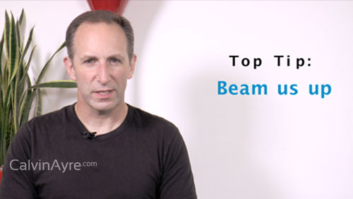 SEO Tip of the Week: Beam Us Up