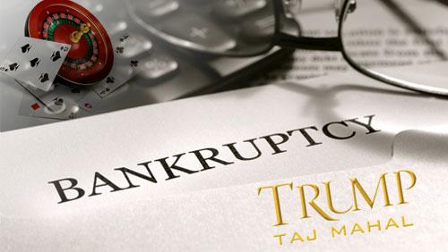 Trump Taj Mahal headed for Bankruptcy