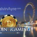 CalvinAyre.com as a media partner for Bitcoin4iGaming