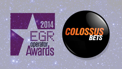 """Colossus Bets Announced as """"Rising Star"""" at EGR Operator Awards 2014"""