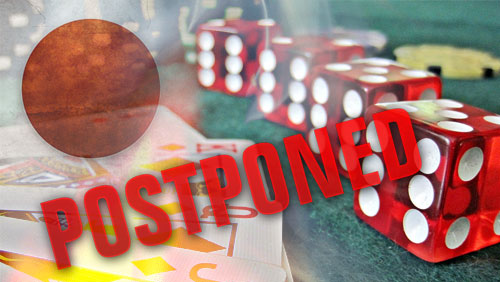 Japan casino bill could be postponed indefinitely