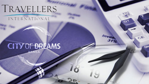 Travellers Q3 results; City of Dreams MNL sets soft/grand opening schedule