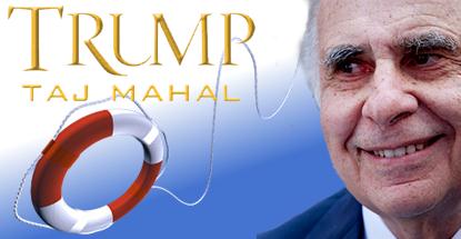 Trump Taj Mahal to remain open after Icahn throws $20m lifeline