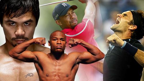 On Deck: Federer's 1000th match win; Tiger's Return; Floyd-Manny close?