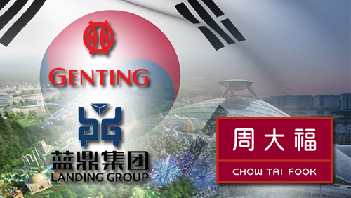 Chow Tai Fook plans $2.6 billion casino investment in Incheon; Landing/Genting casino project begins construction