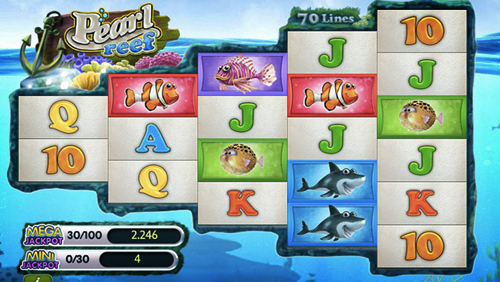 Akamon releases new slots game: Pearl Reef