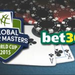 Global Poker Masters: Timeline Announced and Bet365 are Taking Bets