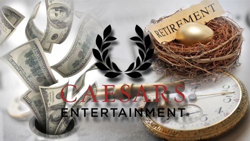 Caesars expelled from pension plan; stops ex-employees retirement income