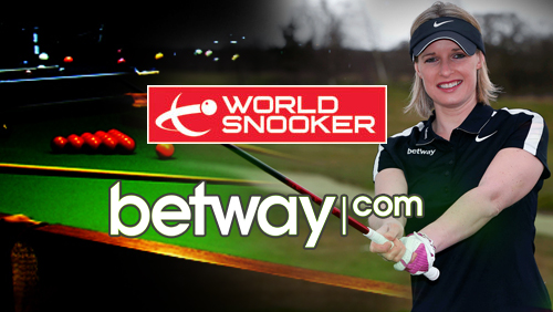 Betway to sponsor Snooker's UK Championship, appoints Sarah Stirk as a golf ambassador