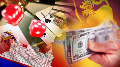 Cambodia casino law; Sri Lanka casino levy