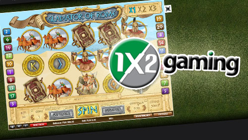 1X2gaming announces the launch of Gladiator Of Rome
