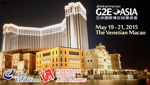 G2E ASIA 2015 to be kicked off TOMORROW