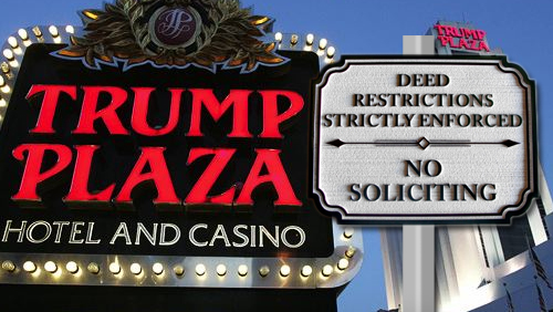 Trump Plaza could be shut down for 10 years