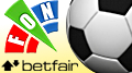 Betfair, Southampton betting partnership; FONBET title sponsor of Russian league