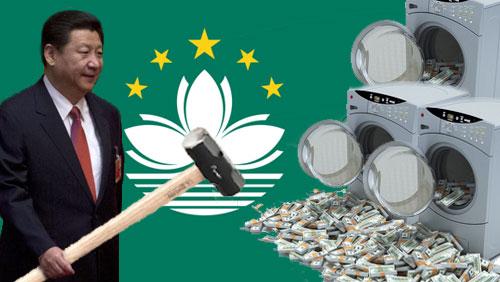 China, Macau sign pact to toughen money laundering measures
