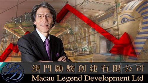 Macau Legend in line with gaming downward trend in Macau