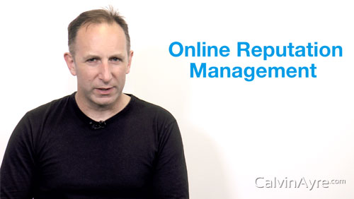 SEO Tip of the Week: Online Reputation Management